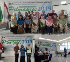 Yeni Ekawati Mahasiswa Berprestasi Tingkat Fakultas Pertanian, Perikanan dan Biologi Tahun 2019