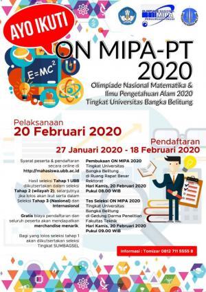 Leaflet ON MIPA PT Tahun 2020